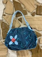 JNS Style  Shoulder Bag Purse Blue  Medium