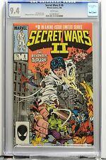 SECRET WARS Vol 2 # 8 CGC 9.4 NM Joe ShooterStory Marvel