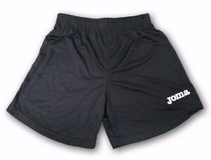 JOMA Shorts Nobel Black New With Tags Youth Size 100% Polyester