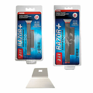 Fluval Razor+ Algae Magnet 2in1 - Small / Medium - Optional Replacement Blades