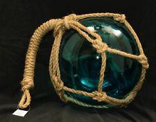 1 Large cobalt dark Blue Glass Float 10 Inches Diameter