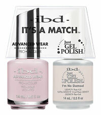 ibd It's A Match Advanced Wear Duo Just Gel & Polish I'm No Damsel 65304