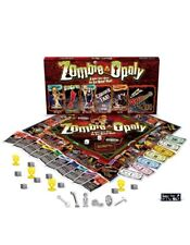 Zombie-opoly Board Game Spooky Zombie Halloween Fall Game Night