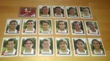 Panini Champions Of Europe 1955-2005 - Bayern M. Team Stickers x17 Complete Team
