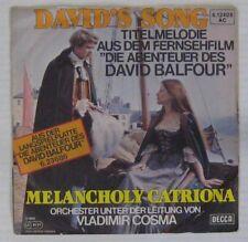 Les aventures de David Balfour 45 tours  Vladimir Cosma 1978 Allemagne