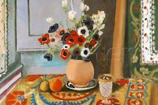 Henri Matisse Les Anemones Flowers Art Print - 24x36