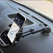 360°Drehbar Einstellbar Auto Handy Halter Halterung Für iPhone 7 Samsung GPS