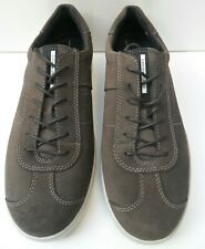 Mens New Ecco Danish Design Brown Suede Lace Up Shoes - Size UK 10 EUR 44