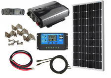 1500Watt Complete Solar Kit with Inverter+ Solar Panel+Controller 12V RV  Boats