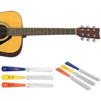 3pcs/set Guitar Nut Files Fret Crowning Slot Filing Luthier Repair Tool Kit