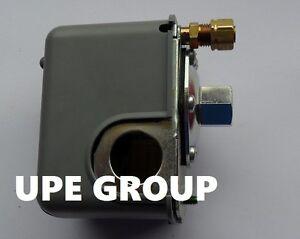 New SQUARE D Pressure switch 9013FHG42J59X  135-175 psi  w/ unloader  1 port