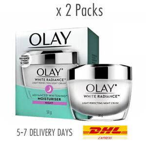 2x [OLAY] White Radiance Intensive Whitening Night Cream Normal Dry Skin 50gr