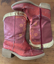 Toy Story Jessie  Boots Size 11-12 *see Pics