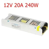 Universal Switch Power Supply Adapter AC/DC 12V 5-30A 60-360W For LED Strip new