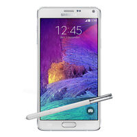 5.7-inch New Samsung Galaxy Note 4 SM-N910A - 32GB Smart phone (Unlocked)- White