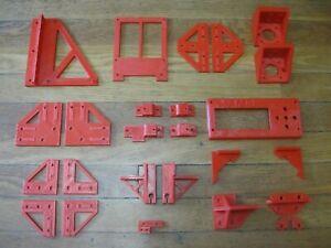 Anet A8 3D Printer DIY Conversion AM8 Kit PETG ORANGE Plastic Parts Only