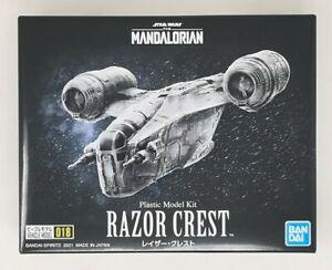 BANDAI STAR WARS VEHICLE MODEL 018 MANDALORIAN RAZOR CREST PLASTIC MODEL KIT