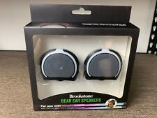 Brookstone BEAR Ear Speakers for Use with Cat Ear Headphones - NEW IN BOX!