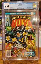 The Man Called Nova #1 - Marvel Comics, 9/76 - CGC 9.4 - Nova Origin & 1st Appea