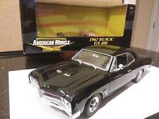 ERTL American Muscle 1967 Buick GS 400 1:18 Scale - Black
