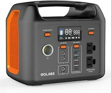 Portable Power Station, LiFePO4 299Wh/3.2V 93450mAh Camping Battery Pack, 300W