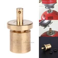Outdoor Camping Propane Refill Adapter Gas Cylinder Tank Coupler Heater Bottles