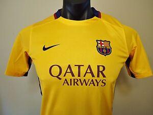 NIKE FC BARCELONA AWAY JERSEY 2015/16 BOYS XL BRAND NEW