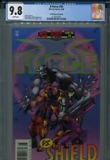 X-Force 55 CGC 9.8 Newstand edition Cable Domino vs. SHIELD Adam Pollina Art
