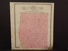 North Dakota Bottineau County Map Scotia Township  1910 Q6#60