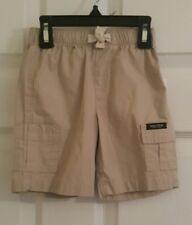 NEW! NAUTICA Childrens Cargo Shorts  Boys (Size: 24M) Khaki NWOT