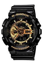 Ga-110gb-1a Black Gold Casio Watch G-shock 200m WR Analog Digital Resin