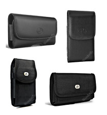 "Pouch for ZTE Grand X 4 or Grand X 3 (5.5"") phone with a protective case on it"