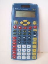 Texas Instruments TI-15 Explorer Calculator Solar Powered 10 Digit Display Works