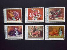 1976 - Romania - Art Reproductions - Flowers - Stefan Luchian, Mi.3382-3387  MNH