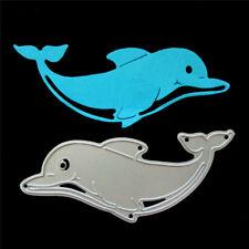 1pc Dolphin Metal Cutting Dies Stencil for DIY Scrapbooking Album Cards M IT