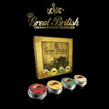 More details for great british gramophone needles box set suite - 4 full tins - brand new uk made