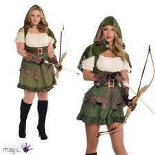 Disfraces unisex verdes, Robin