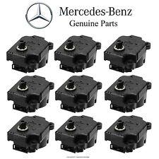 Mercedes W220 S430 S65 C215 CL55 AMG Set of 9 Actuator Motors Air Flap Control