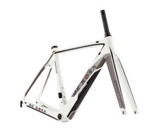 NEW De Rosa PROTOS Carbon Road Bike Frame & Fork : Matte White 55.1 CM