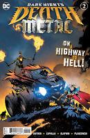 Dark Nights Death Metal #2 (Of 6) Cvr A Capullo Embossed Foil (2020 Dc Comics)