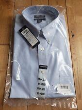 NWT Men's Blue KIRKLAND SIGNATURE Non Iron Tailored Fit Shirt 16 1/2