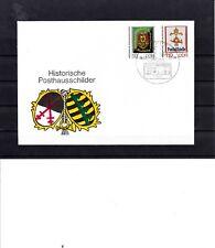 (4071)DDR1990,FDC,Tag der Werktätigen des Post- u.Fernmeldewesens,Posthausschild