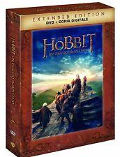 LO HOBBIT - UN VIAGGIO INASPETTATO (5 DVD) EXTENDED EDITION, EDIZIONE ITALIANA