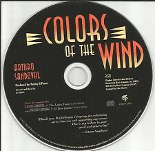 ARTURO SANDOVAL Colors of the Wind 1995 Ultra Rare PROMO DJ CD single 1995 MINT
