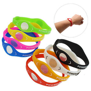 Power Balance Energy Health Bracelet for Sport Wristbands Ion Silicone Band G_yk