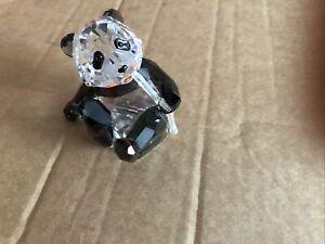 swarovski crystal panda