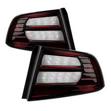 Acura 04-08 TL Negro Tintado Repuesto Trasera Freno Luces Izquierda + Derecha
