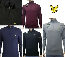 LYLE AND SCOTT QUARTER ZIP JUMPER FOR  MEN'S
