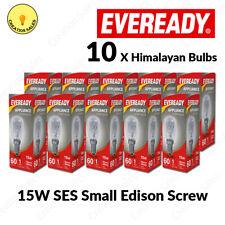10 X Himalayan Salt Lamp Bulb E14 15W Pygmy Light Appliance Bulb SES Small Screw