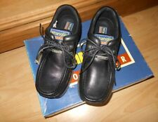 Wranglers Mens Boys Leather School,work shoes sizes 4-8 new with original box